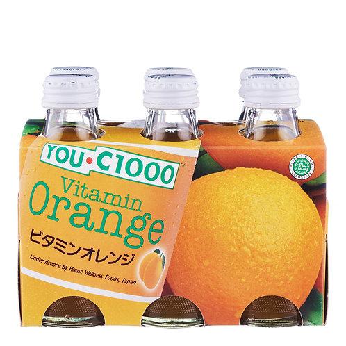 【六樽裝】YOU C1000 維他命香橙味