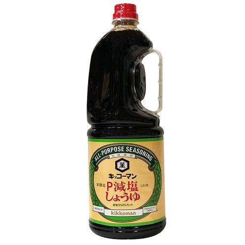 日本萬字減鹽醬油 1.8L