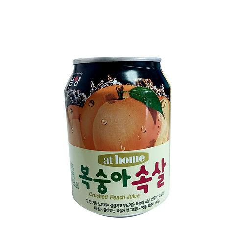【四件優惠價】韓國 蜜桃汁(果肉入)