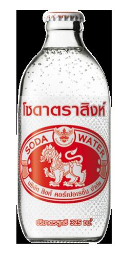 【兩件優惠價】泰國勝獅 玻璃樽梳打水