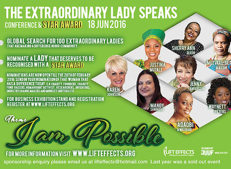Lift Effects-Extraordinary Woman Speaks Conference