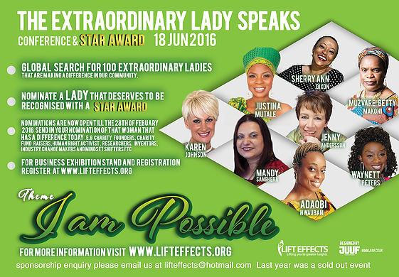 The Extraordinary Lady Speaks Conference