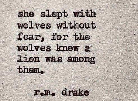 Even If You Sleep With Wolves