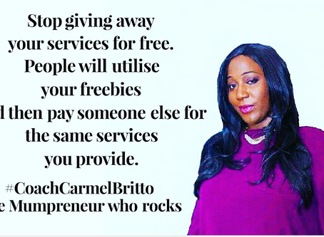 Why I Don't Do Freebies Unless You Pay Me