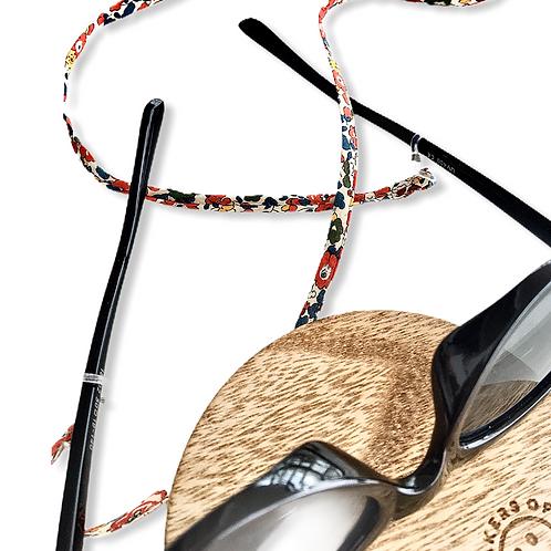 Cordon de lunette petites fleurs