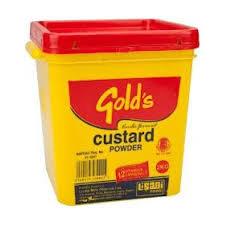 Gold's Custard