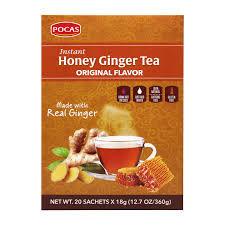 Pocas Honey Ginger Tea