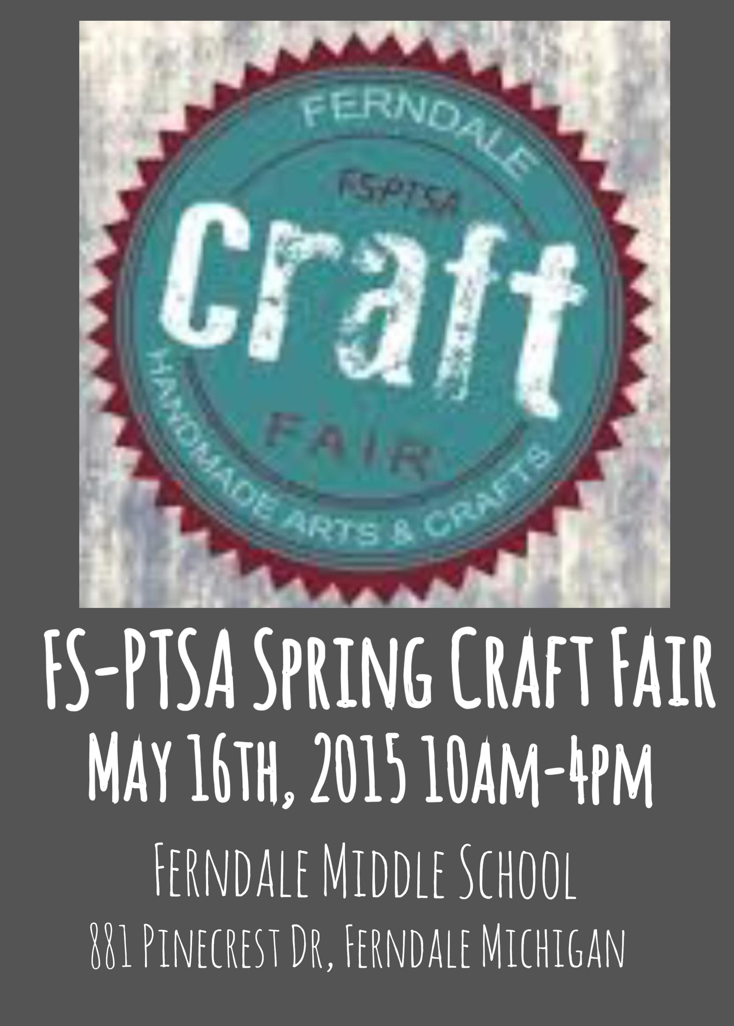 FS-PTSA Spring Craft Fair 2015