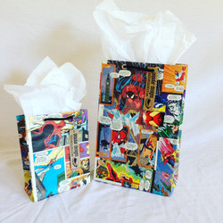 comic book gift bag