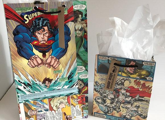 (5) large Comic Gift Bag