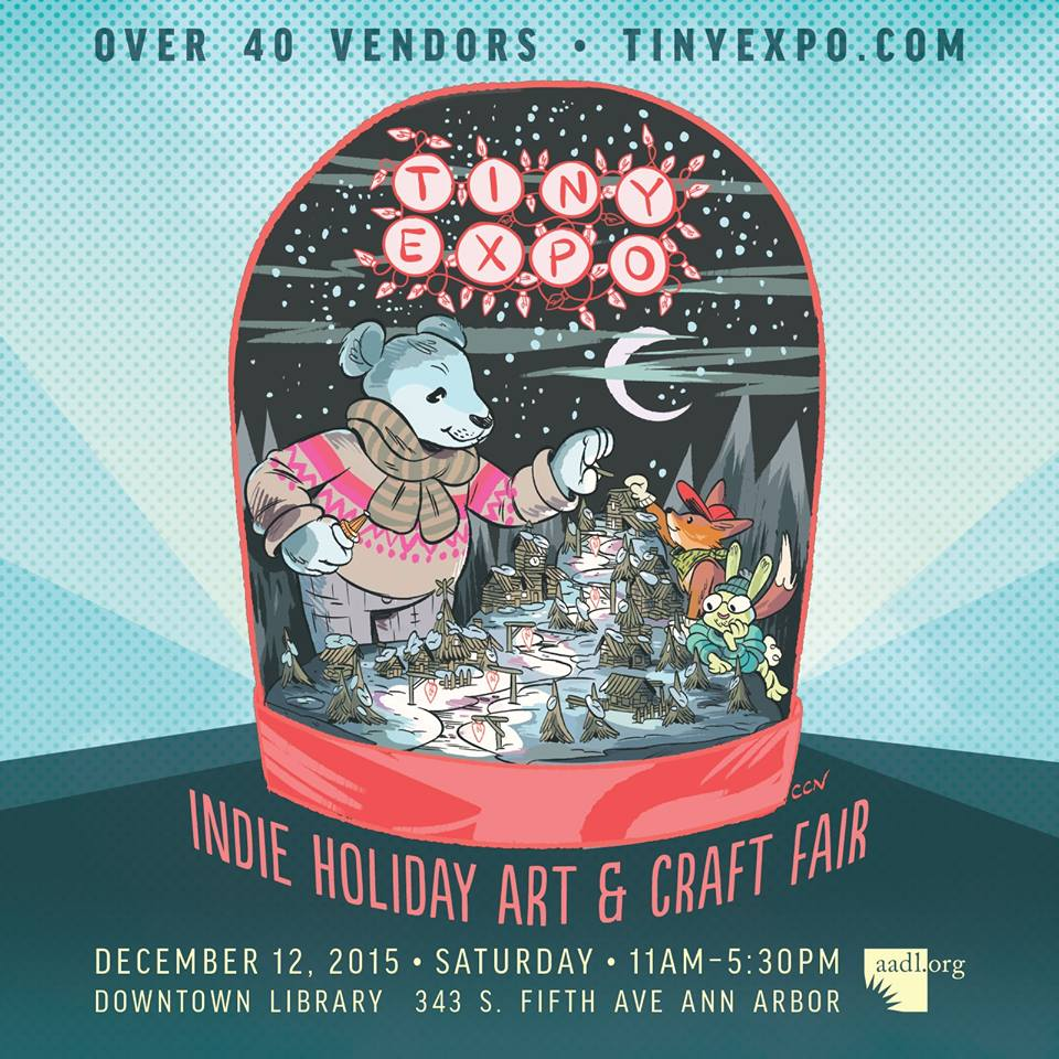 Tiny Expo 2015 Indie Holiday Art & C