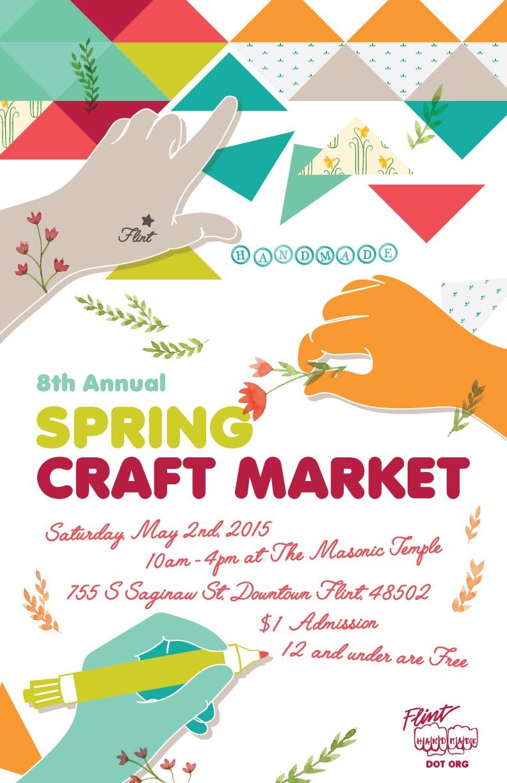 Flint Handmade Spring Craft Market 2