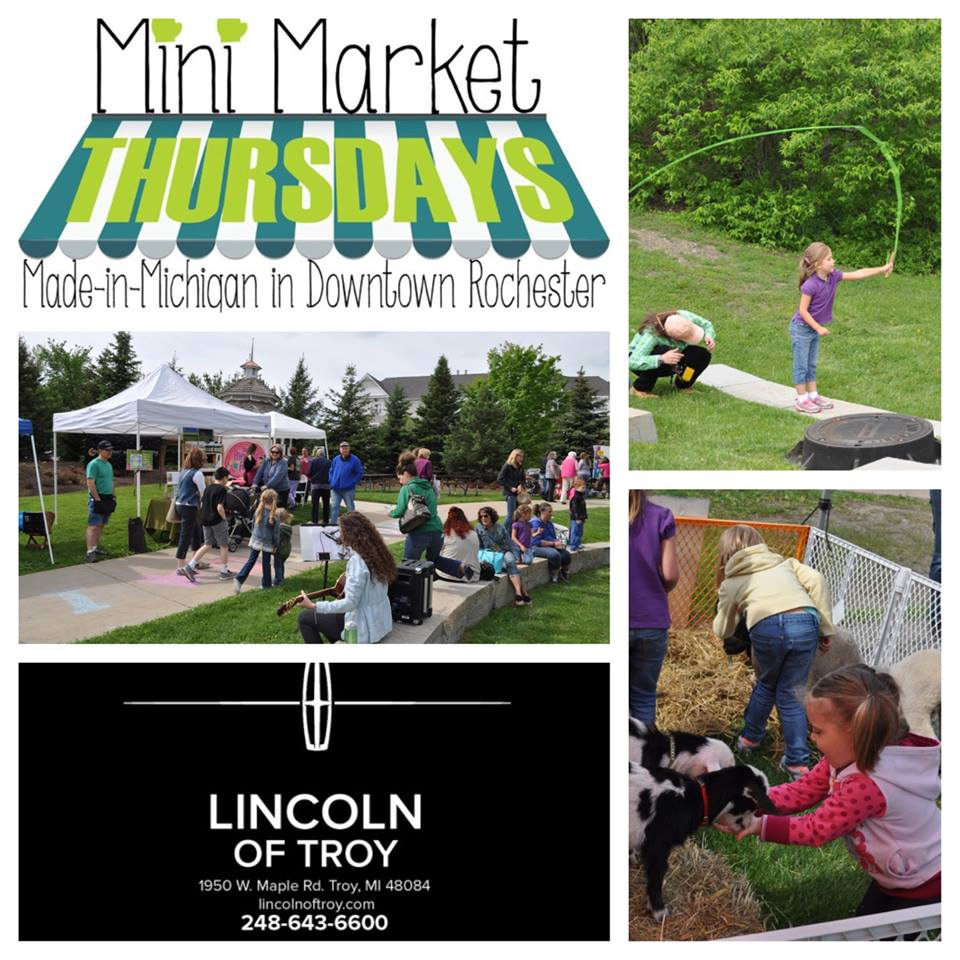 Rochester Hills mini market thursday