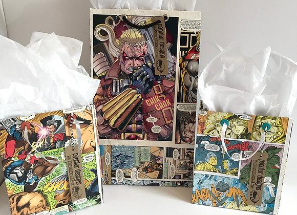 (10) Small Comic Gift Bag