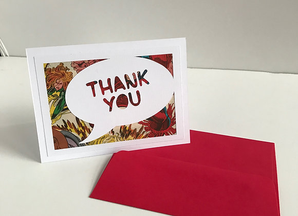 (6) Thank You Card