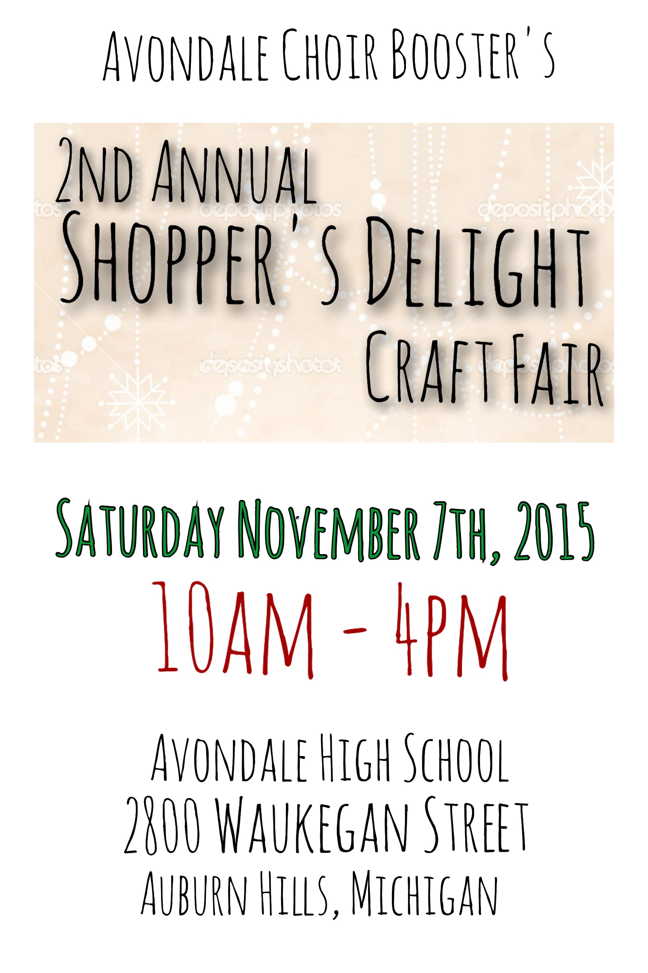 Avondale Shopper's Delight 2015