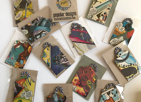 (10) Comic Book Gift Tags