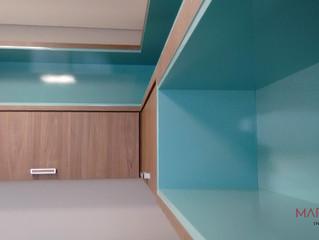 {Acabamento} Laca no mobiliário