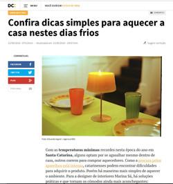 Matéria no Diário Catarinense