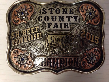custom trophy buckle, economical