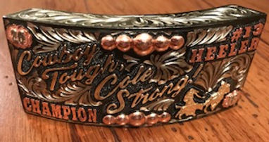 box buckle, trophy buckle, rodeo awards