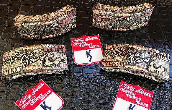 Kelly Slover, box buckle, collection, rodeo award, trophy buckle