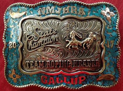 unique artistic trophy buckles