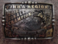 traditional trophy buckle