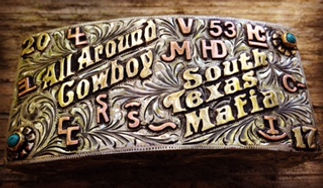 box buckle, rodeo awards, trophy buckle, comfort fit, all around cowboy award