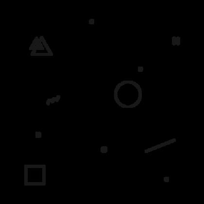 Various Shape Pattern White