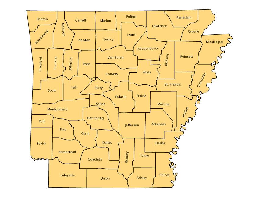 1850 County Borders