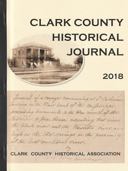 Clark County Historical Journal 2018