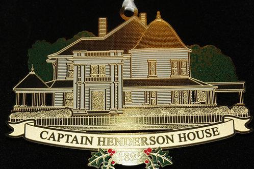 Captain Henderson House Ornament