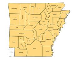 1836 County Borders