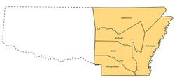 1819 Five Counties