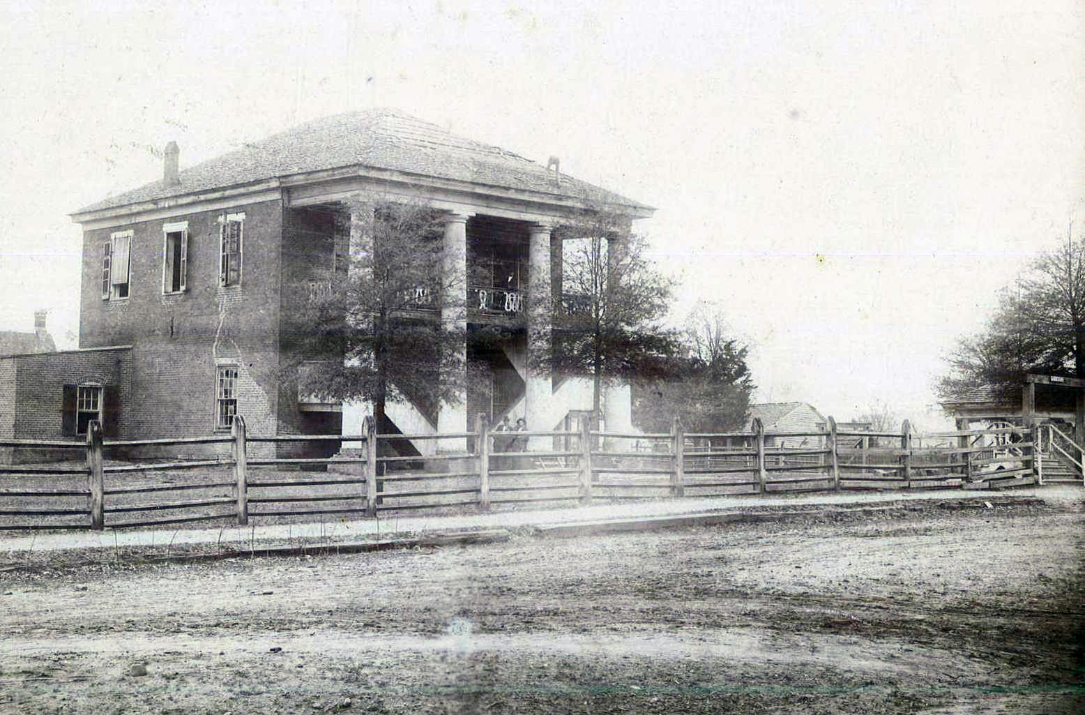 First Permanent Courthouse