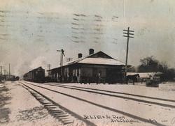 Snow Laden Depot