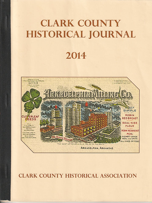Clark County Historical Journal 2014