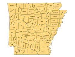 2005 County Map