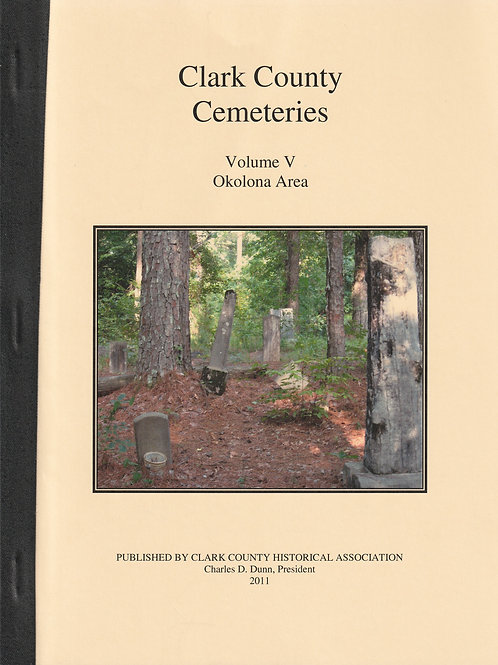 Clark County Cemeteries Vol V Okolona Area