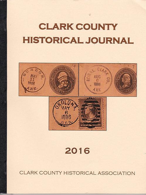 Clark County Historical Journal 2016