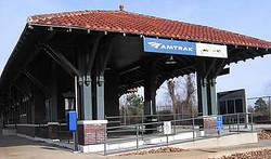 Historic Missouri Pacific Rail Stati