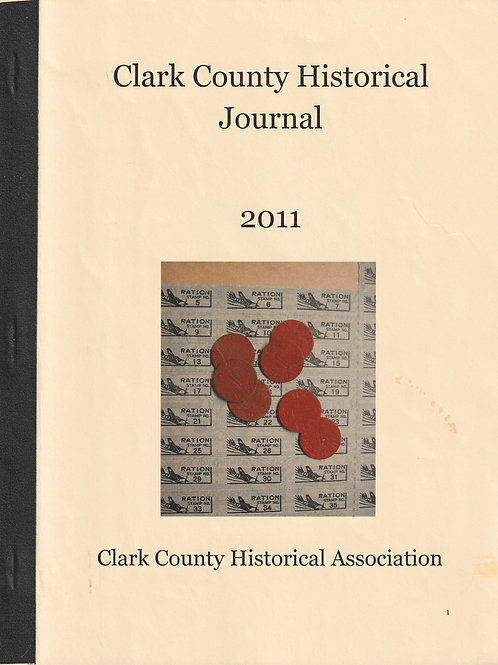 Clark County Historical Journal 2011