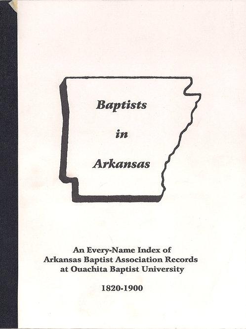 Baptist in Arkansas 1820 - 1900