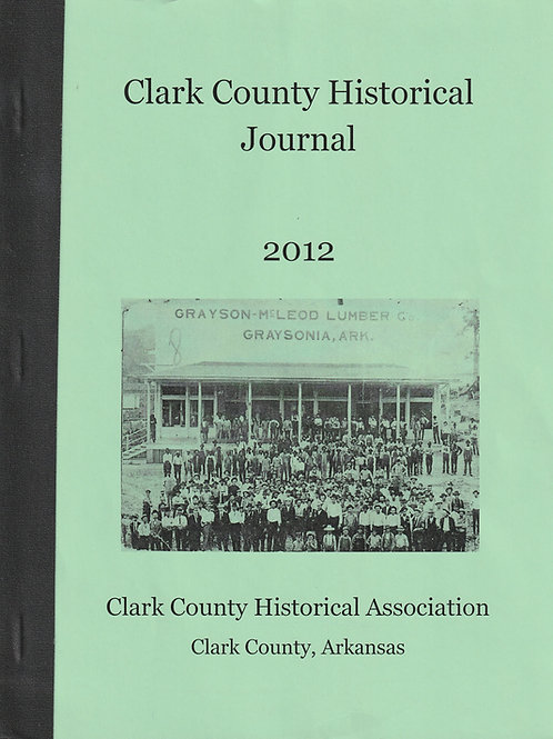 Clark County Historical Journal 2012