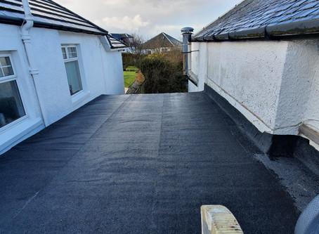New Flat Roof (February 2020)