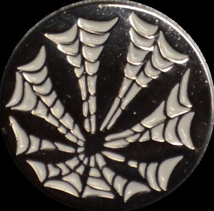 One Inch Dirtweed Stamped Iron Enamel Pin