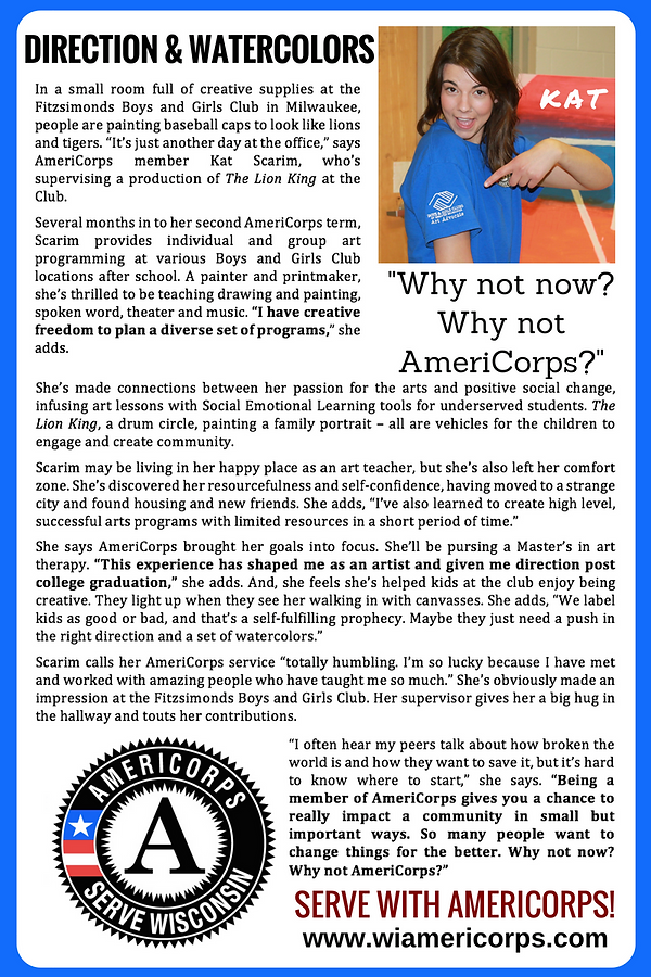 motivational essay americorps How to apply to americorps--like a boss what does leaving your why i volunteer section or your motivational statement blank say about you.