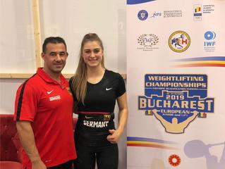 Platz 6 für Nancy Ludwig zur U23 EM in Bucharest