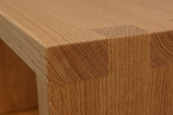Perfectly finished solid wood furniture